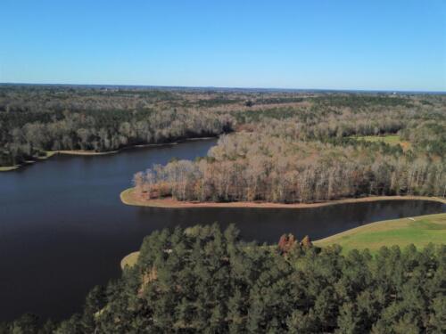 Lake Bernita Drone Pic