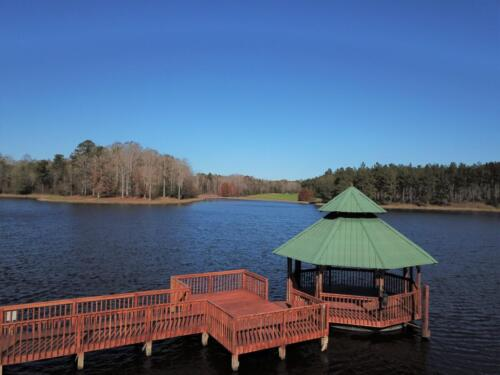 Lake Bernita Dock